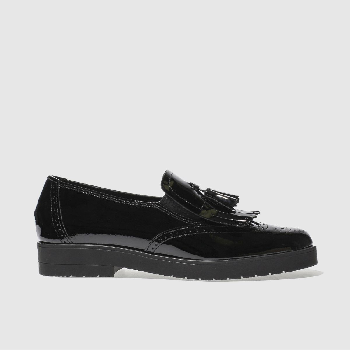 Schuh Black Hunky Dory Flat Shoes