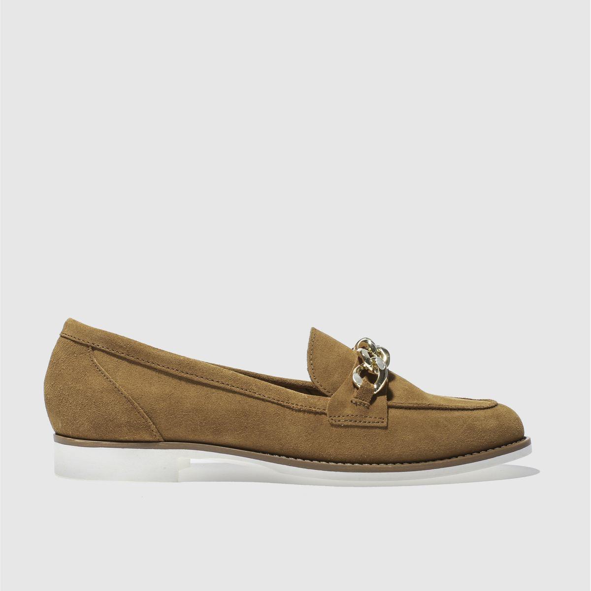 Schuh Tan Radius Flat Shoes