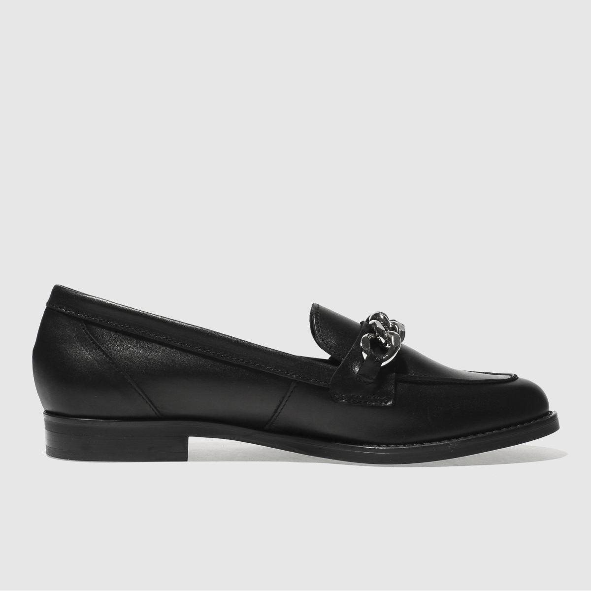 Schuh Black Radius Flat Shoes