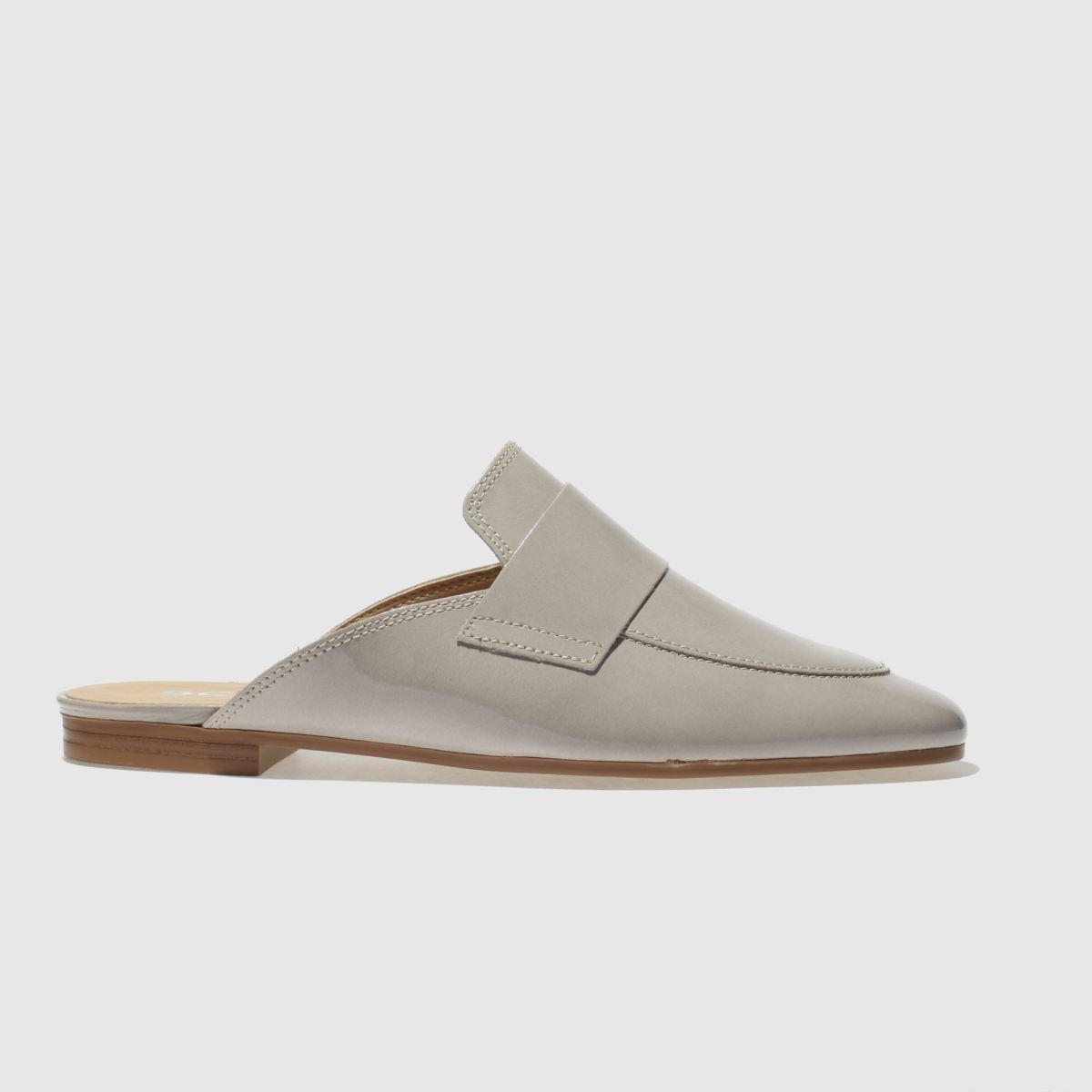 Schuh Light Grey Fancy Flat Shoes