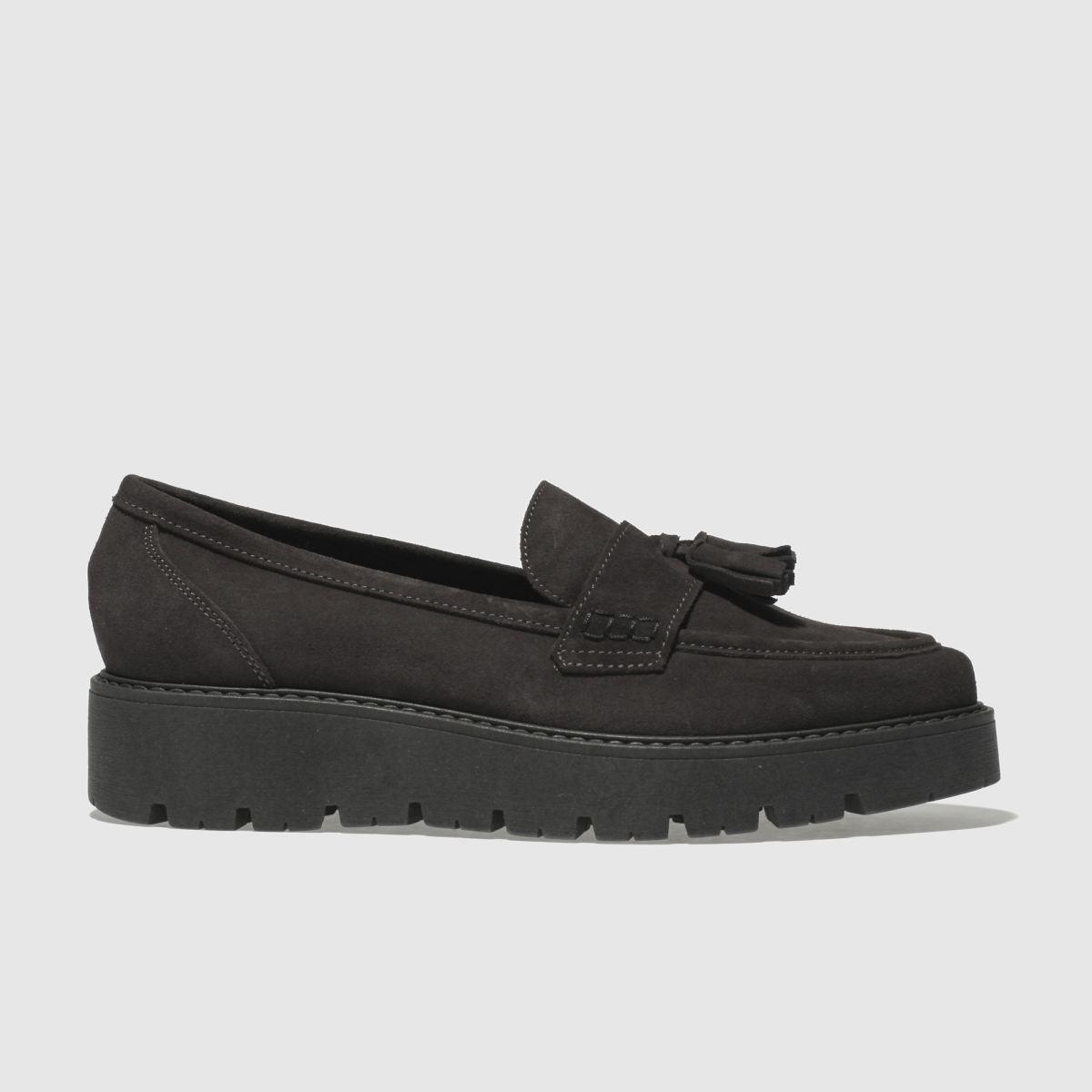 Schuh Dark Grey Stroller Flat Shoes