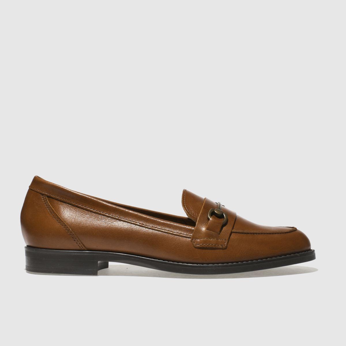 Schuh Tan Infinity Flat Shoes