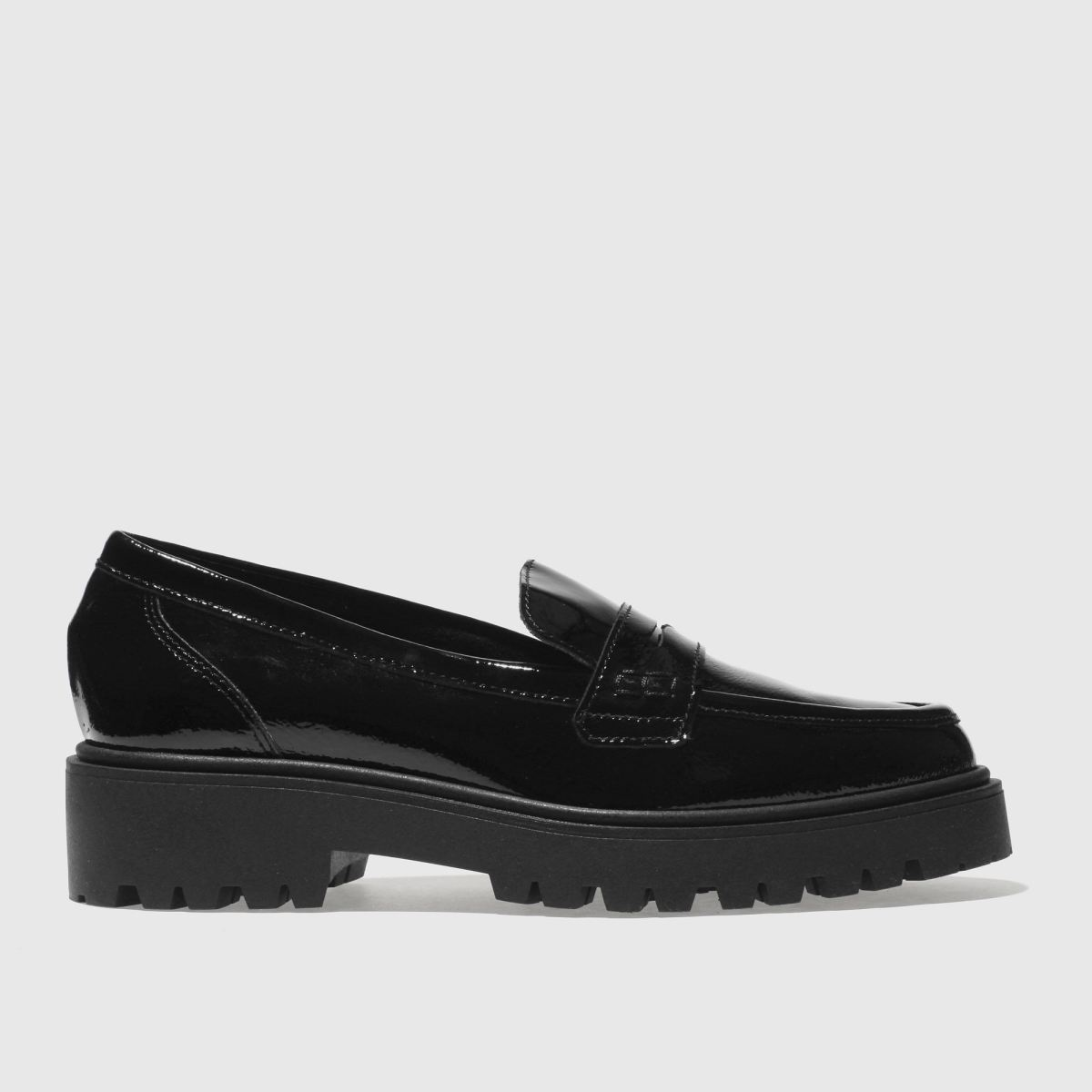 Schuh Black Glimmer Flat Shoes