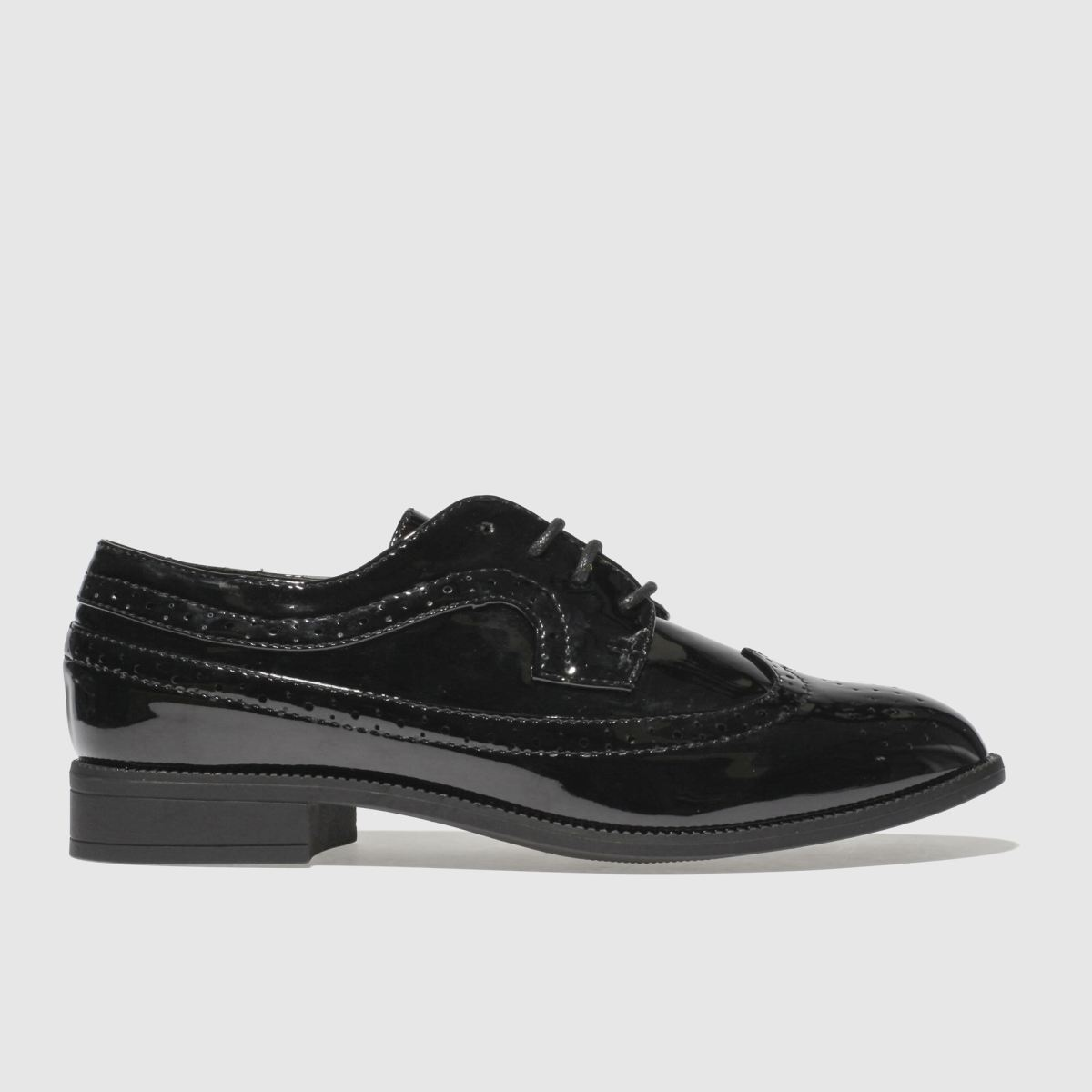 schuh Schuh Black Genius Flat Shoes
