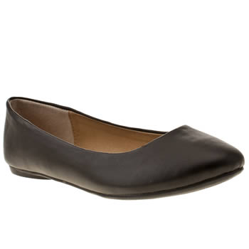 Schuh Black Ever After Flats
