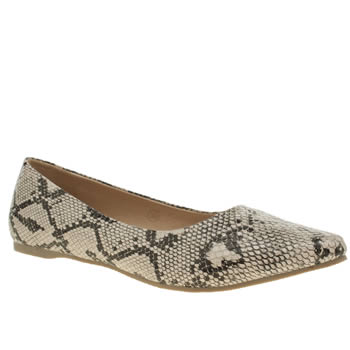 Schuh Natural Entranced Womens Flats