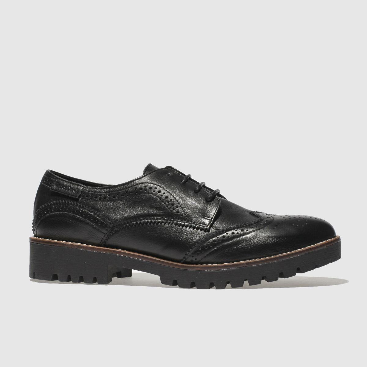 Red Or Dead Black Jam Tart Flat Shoes