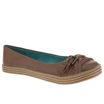 womens blowfish tan rho ii flat shoes