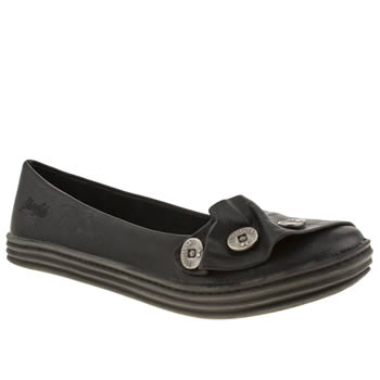 Womens Blowfish Black Rand Flats