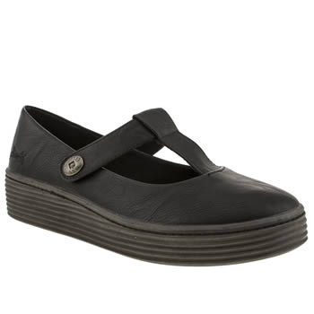 womens blowfish black basu flat shoes