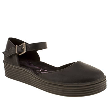 Womens Blowfish Black Baylor Flats