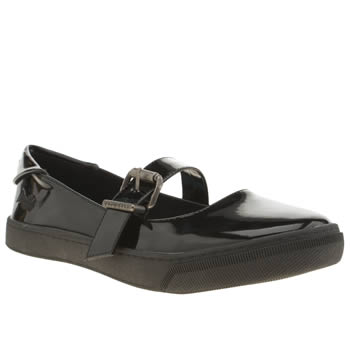 Womens Blowfish Black Parents Flats