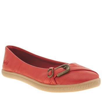 Blowfish Red Joop Womens Flats