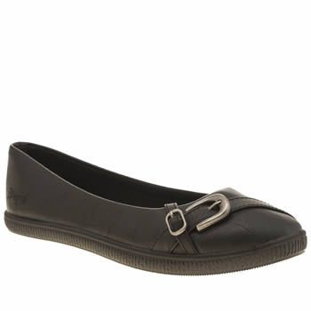 Womens Blowfish Black Joop Flats