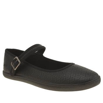 Womens Blowfish Black Jonas Flats