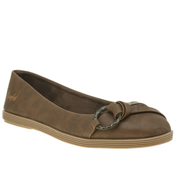 Blowfish Tan Gunther Womens Flats