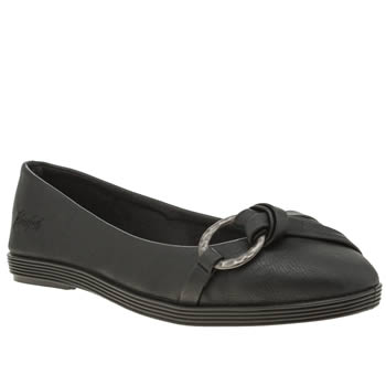 Blowfish Black Gunther Flats
