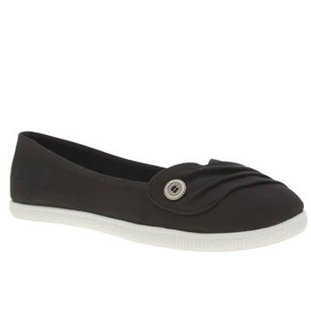 Womens Blowfish Black Juns Flats