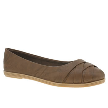 Womens Blowfish Brown Glo Flats