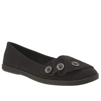Blowfish Black Garamel Womens Flats