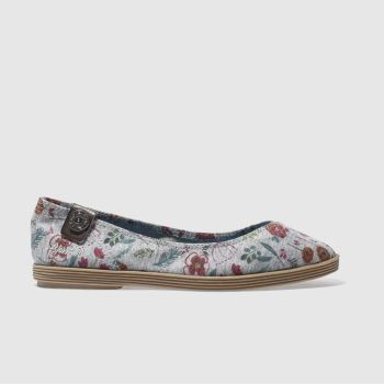 Blowfish Grey GIAN POPPYFIELDS Flats