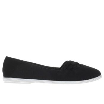 Blowfish Black GROVER JERSEY Flats