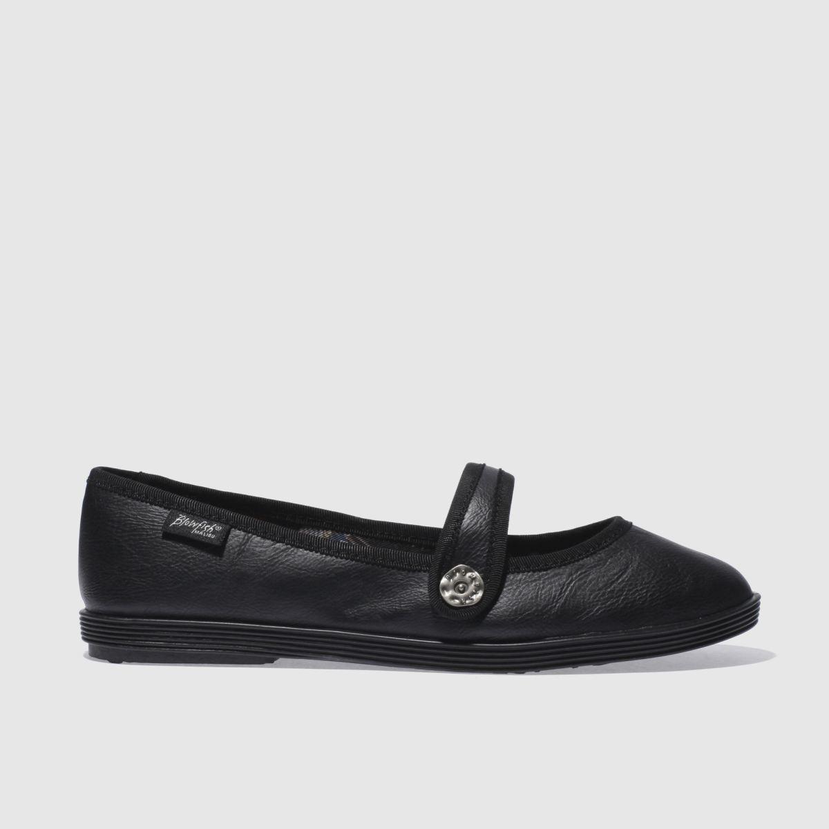 blowfish black goji flat shoes