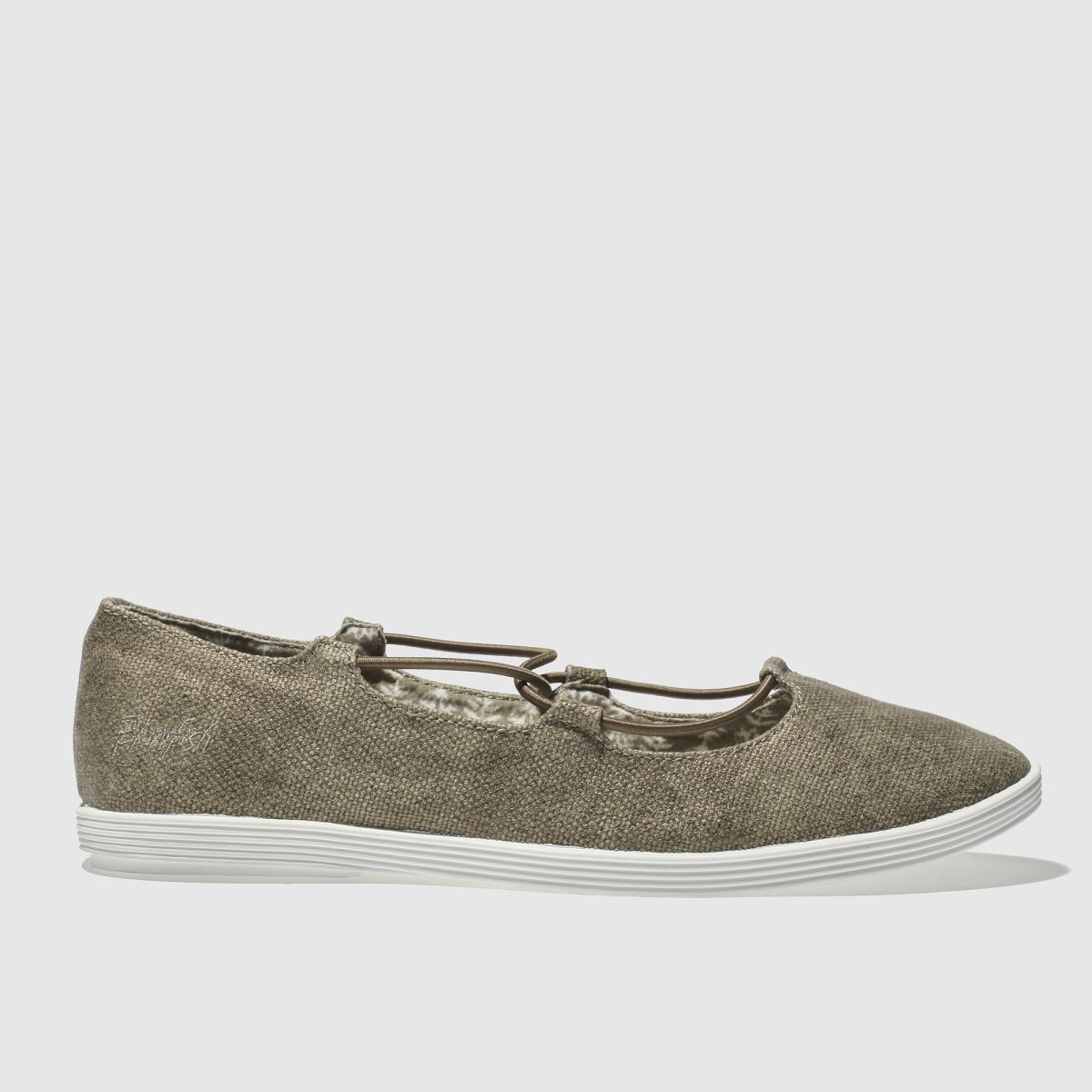 Blowfish Bronze Gastby Flat Shoes