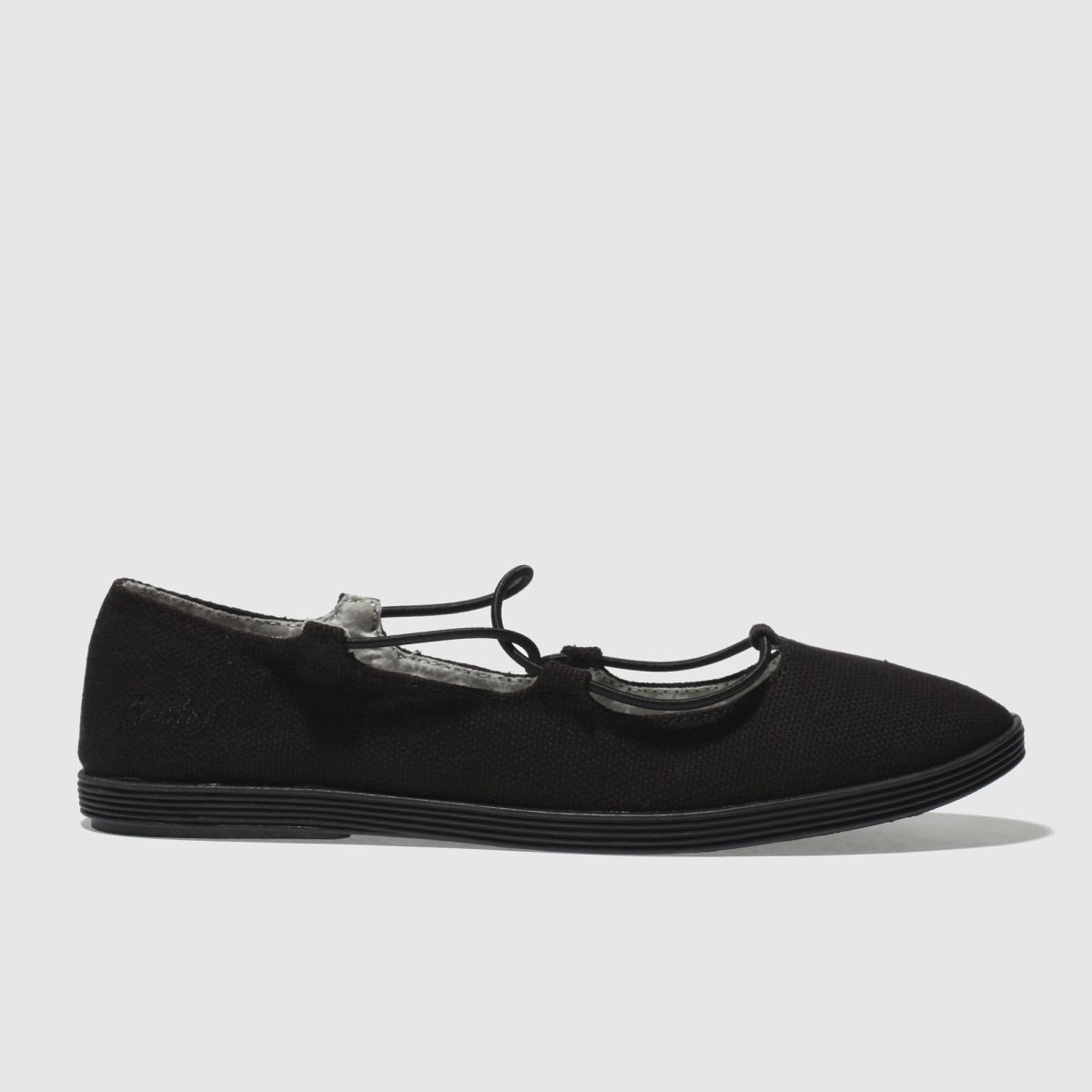Blowfish Black Gastby Flat Shoes