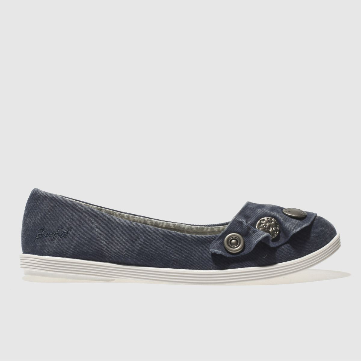 Blowfish Blue Gayls Flat Shoes