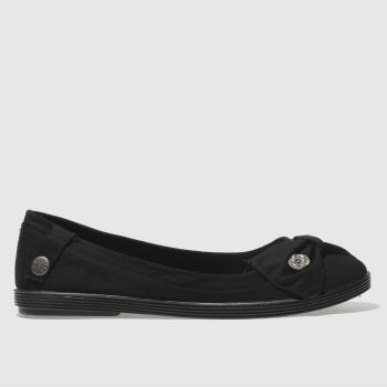 Blowfish Black Gimlet Womens Flats