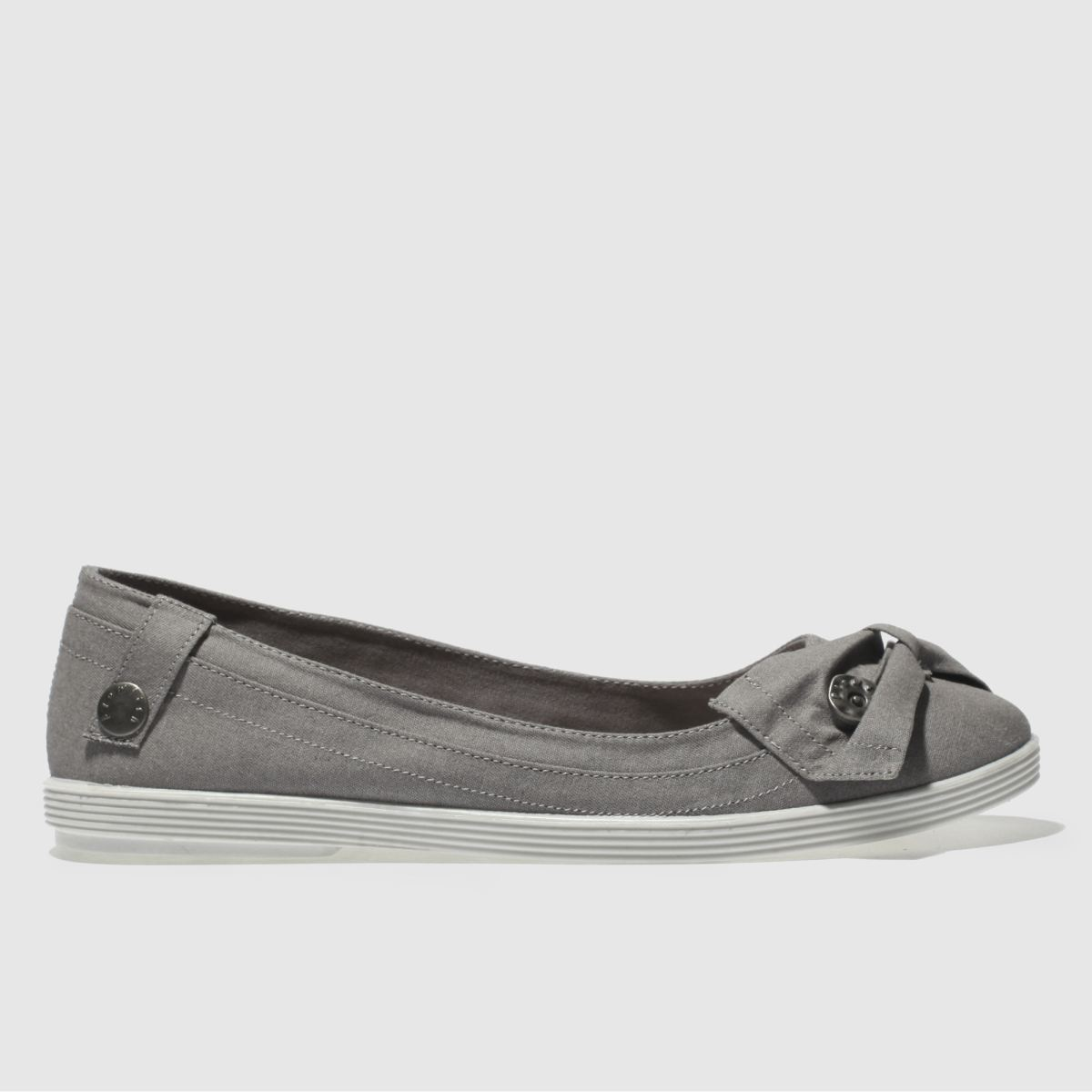 Blowfish Grey Gimlet Flat Shoes