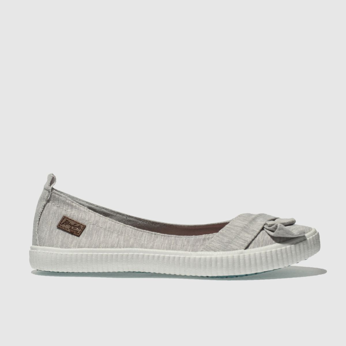 Blowfish Light Grey Sansa Flat Shoes