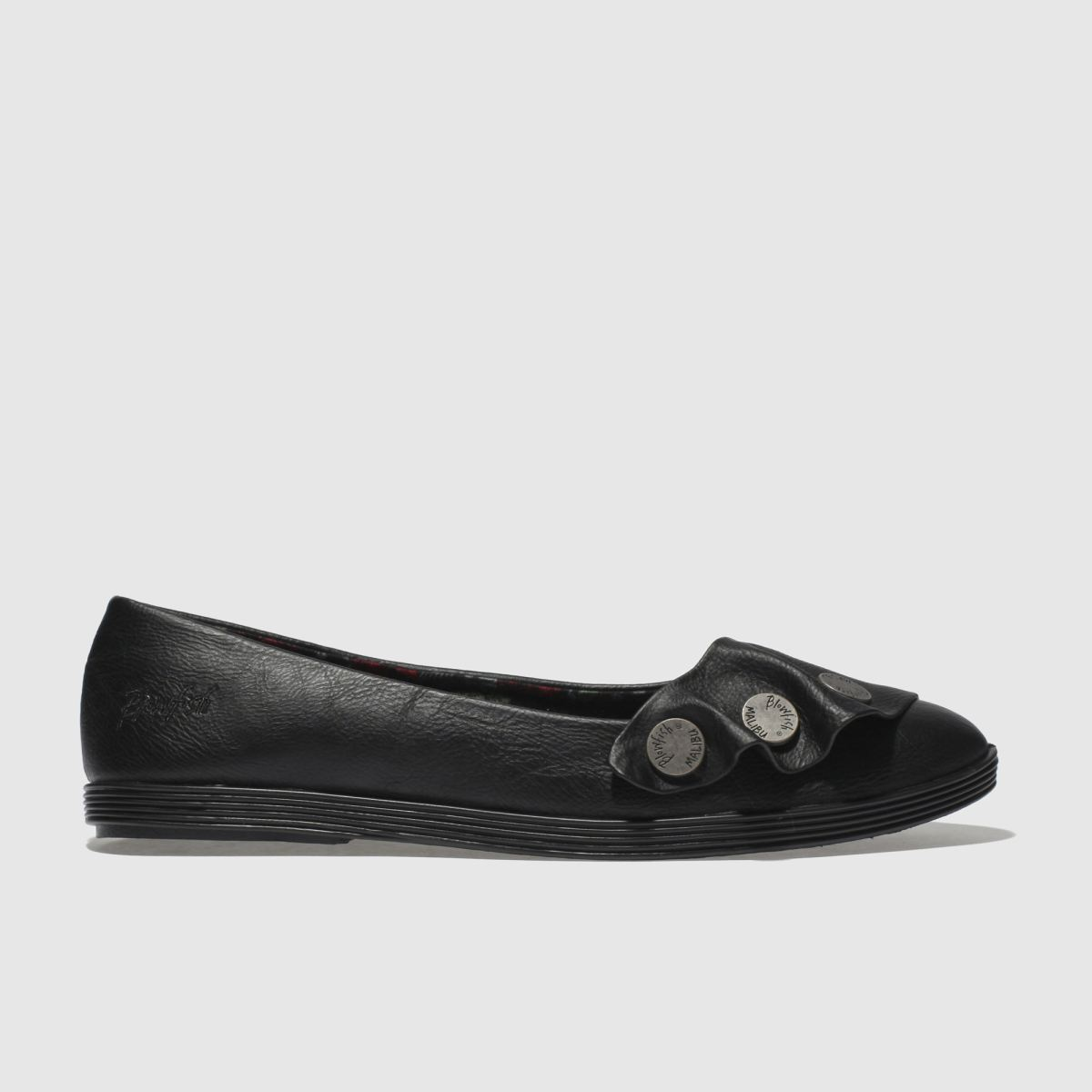 Blowfish Black Galena Flat Shoes