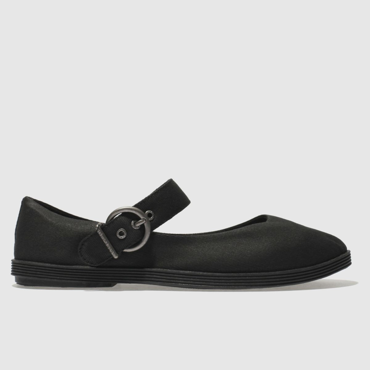 Blowfish Black Getaway Flat Shoes