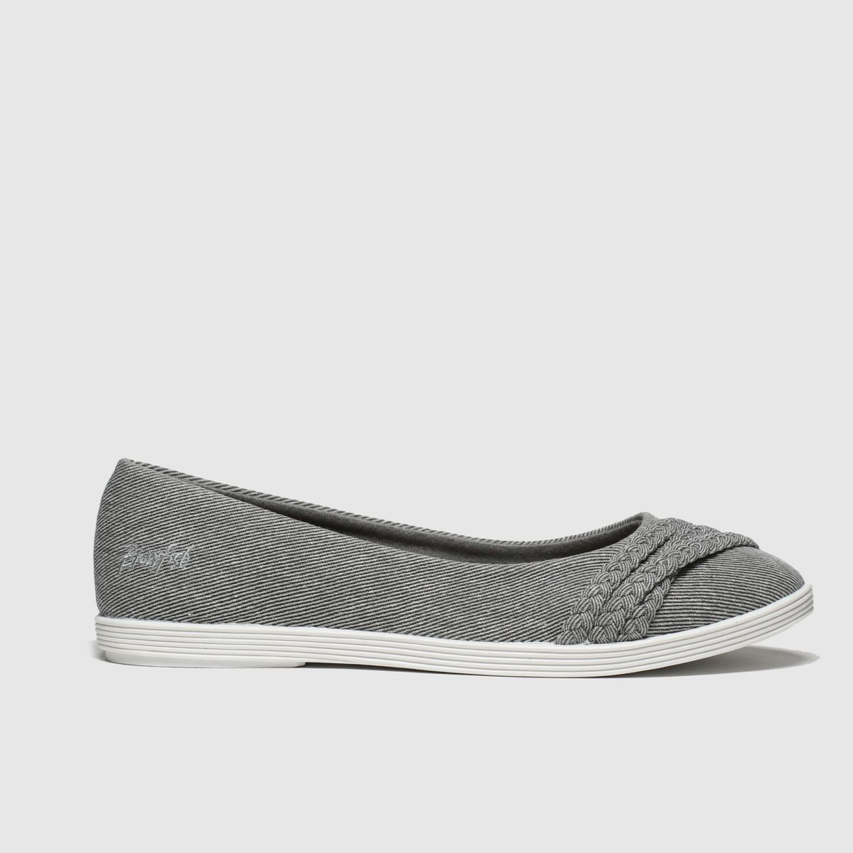Blowfish Blowfish Grey Giddie Flat Shoes