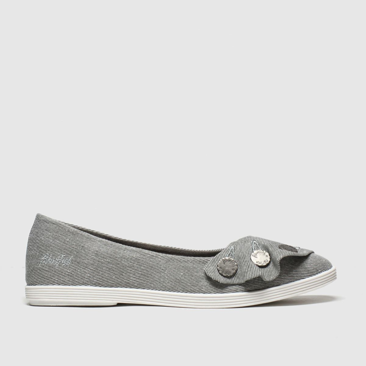Blowfish Blowfish Grey Gogogo Flat Shoes