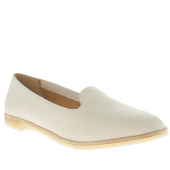 Clarks Originals White Phenia Jazz Flats