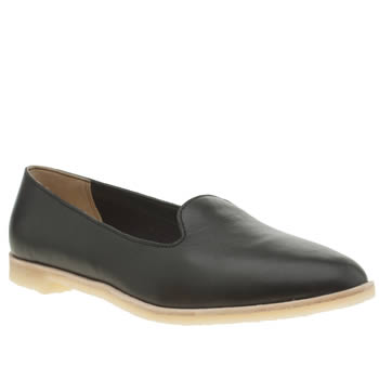 Womens Clarks Originals Black Phenia Jazz Flats