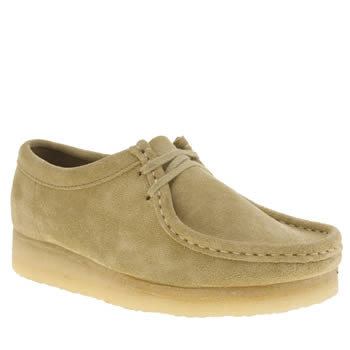 Clarks Originals Stone Wallabee Flats