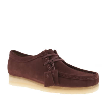 Clarks Originals Brown Wallabee Womens Flats