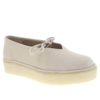 Clarks Originals Pale Pink Timberly Craft Womens Flats