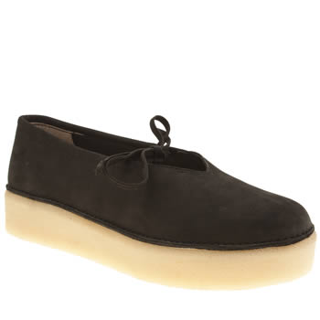 Clarks Originals Black Timberly Craft Womens Flats