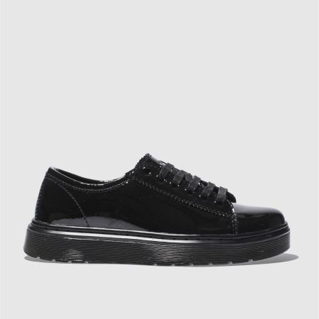 dr martens lyric spin lace shoe patent 1