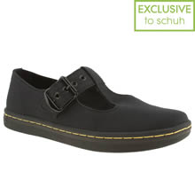 Black Dr Martens Eclectic Woolwich T-bar