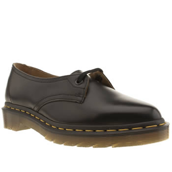 Dr Martens Black Siano 1-eye Flats
