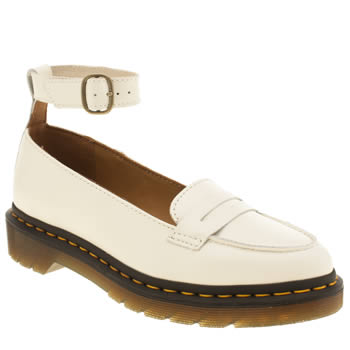 Dr Martens Stone Leonie Pointed Penny Loafer Flats