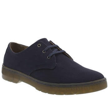 Dr Martens Navy Cruise Gizelle 3 Eye Womens Flats