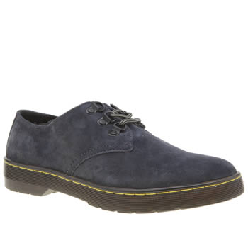 Dr Martens Dark Grey Cruise Gizelle 3 Eye Womens Flats