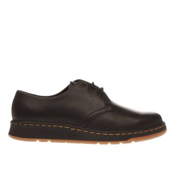 Dr Martens Black Cavendish 3 Eye Flats